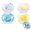Philips Avent Avent cumi NIGHT 0-6 m - 2 db csillogó