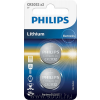 Philips CR2032P2/01B 2 db lítium elem, 3V