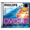 Philips DVD-R 16x 1db vékony tok
