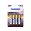 Philips FR6LB4A/10 - 4 db lítium elem AA LITHIUM ULTRA 1,5V
