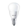 """Philips LED izzó, E27, csillár, 7W, 830lm, 230V, 4000K, P48,  """"CorePro"""""""