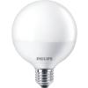 "Philips LED izzó, E27, gömb, 15W, 1521lm, 2700K, G93, PHILIPS ""CorePro"""