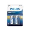 Philips LR14E2B/10 - 2db alkáli elem C ULTRA ALKALINE 1,5V