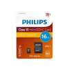 Philips microSDHC Philips 16GB CL10 + adapter (PH667559)