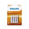 Philips R03L4B/10 - 4 db cink-klorid elem AAA LONGLIFE 1,5V