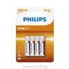 Philips R03L4B AAA CINK-SZÉN longlife