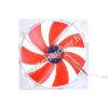 Phobya G-Silent 18 700rpm Slim Red LED