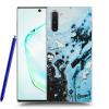 Picasee Fekete szilikon tok az alábbi mobiltelefonokra Samsung Galaxy Note10 N970F - Organic blue