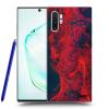 Picasee Fekete szilikon tok az alábbi mobiltelefonokra Samsung Galaxy Note10+ N975F - Organic red