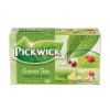 """Pickwick Zöld tea, 20x2 g,  """"Zöld tea Gyümölcsös Variációk"""", citrom,áfonya,mangó-jázmin,eper-citromfű"""