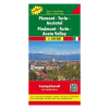 Piemonte · Torino · Aosta-völgy térkép / TOP 10 Tipp / freytag & berndt
