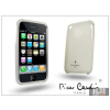Pierre Cardin Apple iPhone 3G/3GS szilikon hátlap - fehér