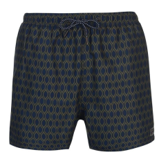 Pierre Cardin férfi fürdőnadrág - Pierre Cardin Geo Swim Shorts Mens NavyKhaki