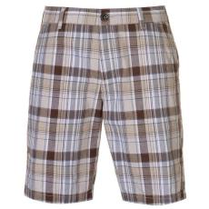 Pierre Cardin férfi rövidnadrág - Pierre Cardin Check Shorts Mens Stone Check