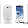Pierre Cardin Samsung i9300 Galaxy S III szilikon hátlap - fehér