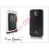 Pierre Cardin Samsung SM-G900 Galaxy S5 alumínium hátlap - black