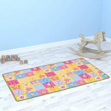 Pillangó mintás játszószőnyeg 133 x 180 cm játszószőnyeg