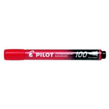 """Pilot Alkoholos marker, 1 mm, kúpos, PILOT """"Permanent Marker 100"""", piros filctoll, marker"""