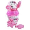 Pink4 Homokozó eszköz szett labdával (14 cm) Charmy Kitty