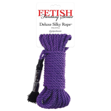 Pipedream Deluxe Silky Rope bondage kötél 9,75 méter (lila) bilincs, kötöző