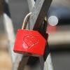 Piros szerelem lakat