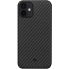 Pitaka tok Black/Grey Twill Apple iPhone 12 (KI1201M) készülékhez