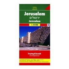 PL 506 Jeruzalém 1:10 000 idegen nyelvű könyv