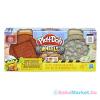 Play-Doh : Kerekek - tégla és kő gyurmakészlet
