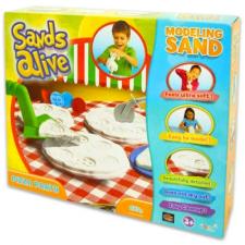 Play Visions Sands Alive: modellező homok - pizza party, 675 g gyurma