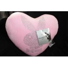 Playboy szív alakú párna rózsaszín lakástextília