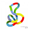 Playlearn Tangle - Végtelen madzag (nagy, mintás)