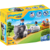 Playmobil 1.2.3 Állatos vonat 70405