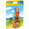 Playmobil 1.2.3 Fiú tigrissel 6976