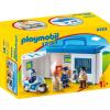 Playmobil 1.2.3 Hordozható rendőrállomás 9382