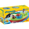 Playmobil 1.2.3 Horgász csónakkal 70183