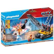 Playmobil City Action 70442 Lánctalpas köteles kotrógép playmobil