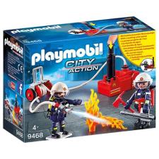 Playmobil City Action Tűzoltók szivattyúval 9468 playmobil