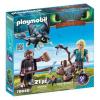Playmobil Dragons Hablaty és Astrid sárkánybébivel 70040