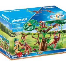 Playmobil Family Fun Orangutánok a fán 70345 playmobil