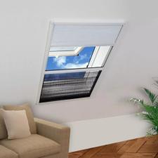 Pliszé ablak szúnyogháló árnyékolóval alumíniumból 80 x 120 cm szúnyogháló