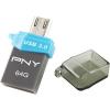 PNY DUO-LINK OTG OU3 64GB USB3.0