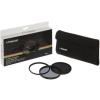 Polaroid szûrõszett (UV, CPL, ND8) + 4 db-os szûrõtok 62 mm