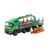 Polesie Volvo fákat szállító teherautó pótkocsival 74 cm