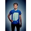 """. Póló, XL méret, sötétben világít, """"Illuminated Apparel"""", kék"""