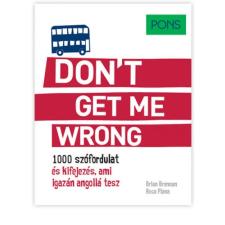 PONS Don't get me wrong tankönyv