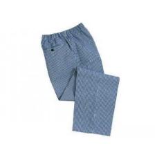 Portwest C079 - Bromley séf nadrág - kockás (kék fehér)