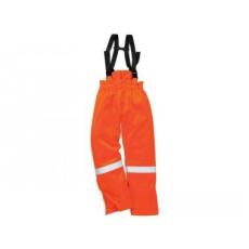 Portwest FR58 - Antisztatikus téli mellesnadrág - narancs