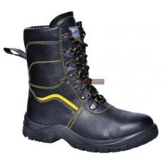 Portwest - FW05 Steelite szőrmebéléses védőbakancs S3 (FEKETE 42)