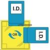 Portwest Portwest ID20 Dupla azonosítókártya tartó - varrható