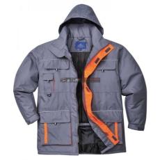 Portwest - TX30 Texo Contrast kabát (SZÜRKE M)